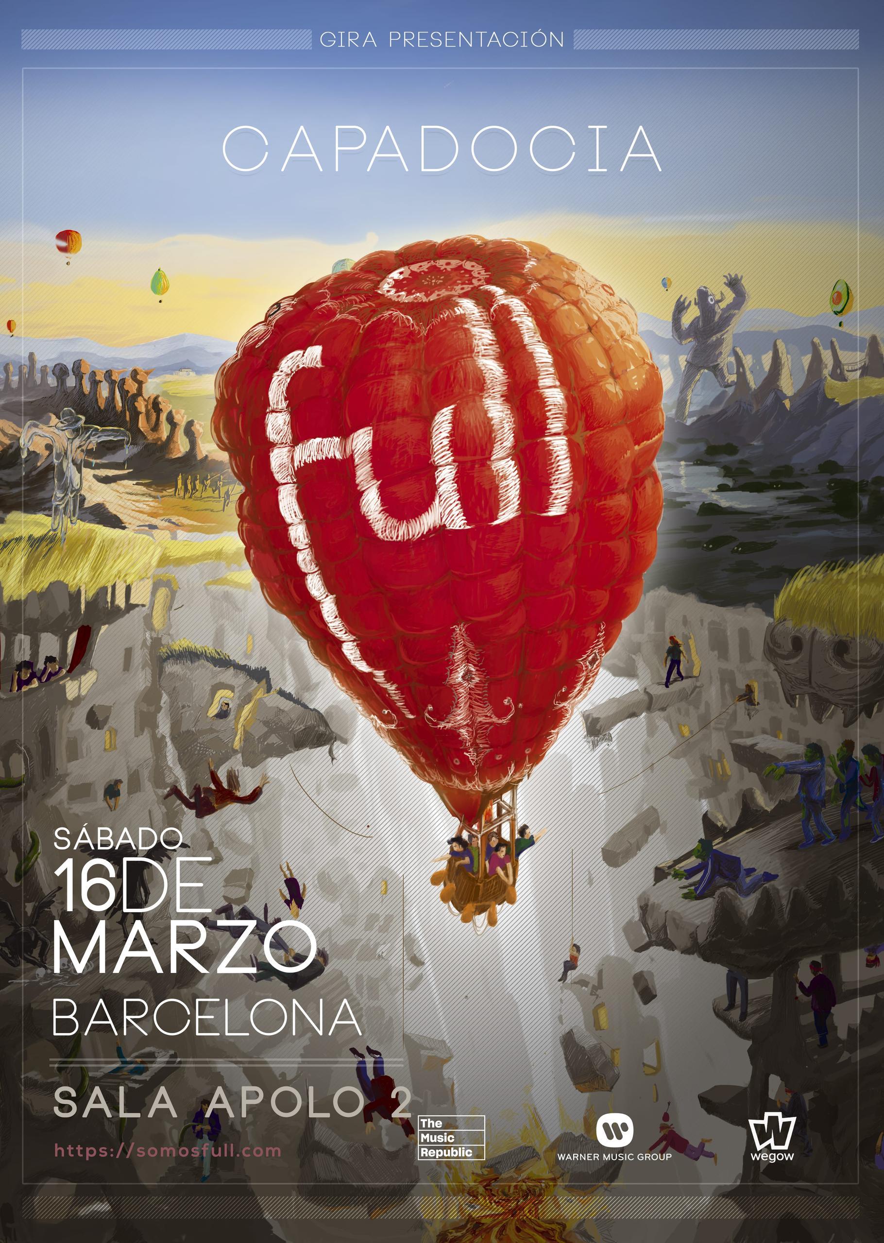 Concierto de Full en Barcelona