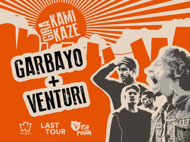 Concierto de GARBAYO y VENTURI en Valencia - Gira Kamikaze