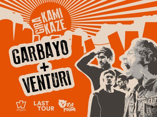 Concierto de GARBAYO y VENTURI en Zaragoza - Gira Kamikaze