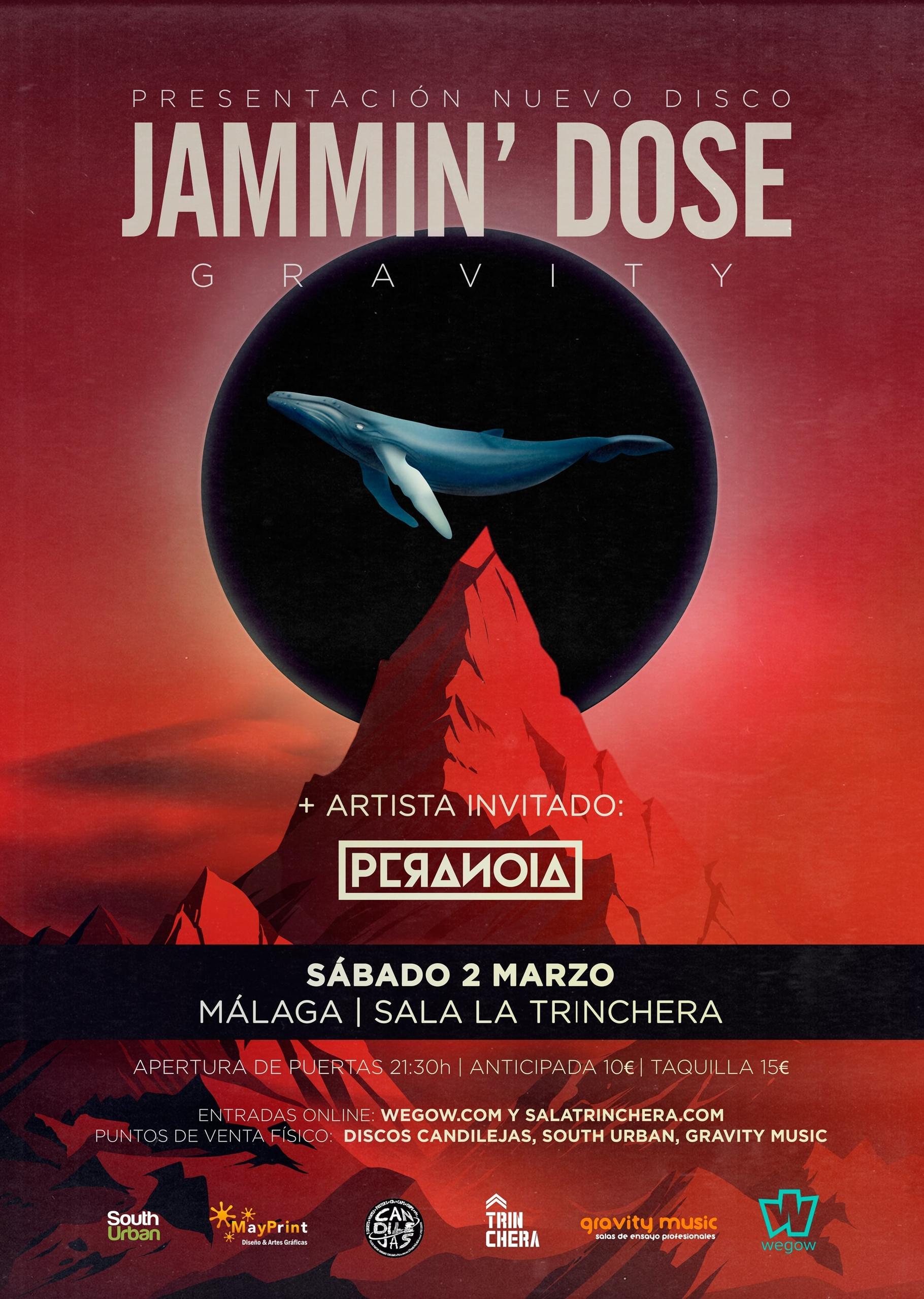 Concierto de Jammin' Dose en Málaga