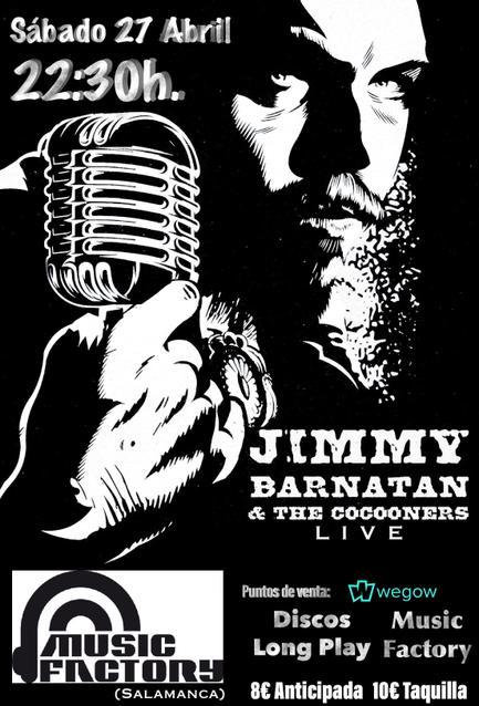 Concierto de Jimmy Barnatán & The Cocooners en Salamanca