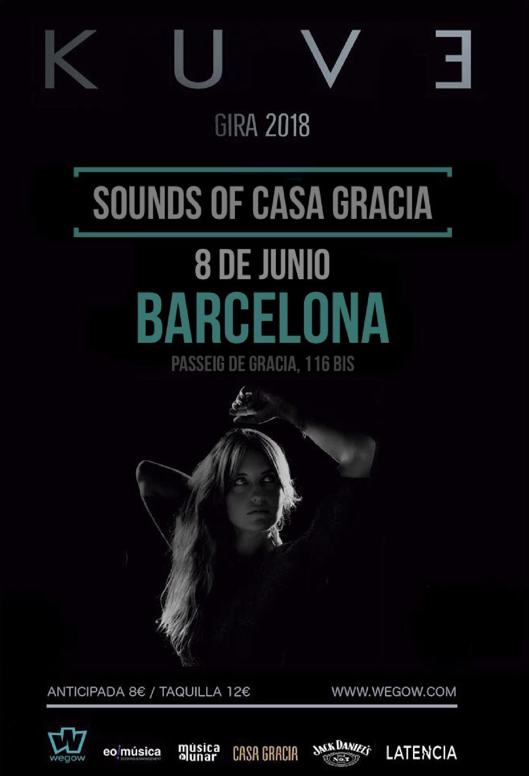 Concierto de Kuve en Barcelona