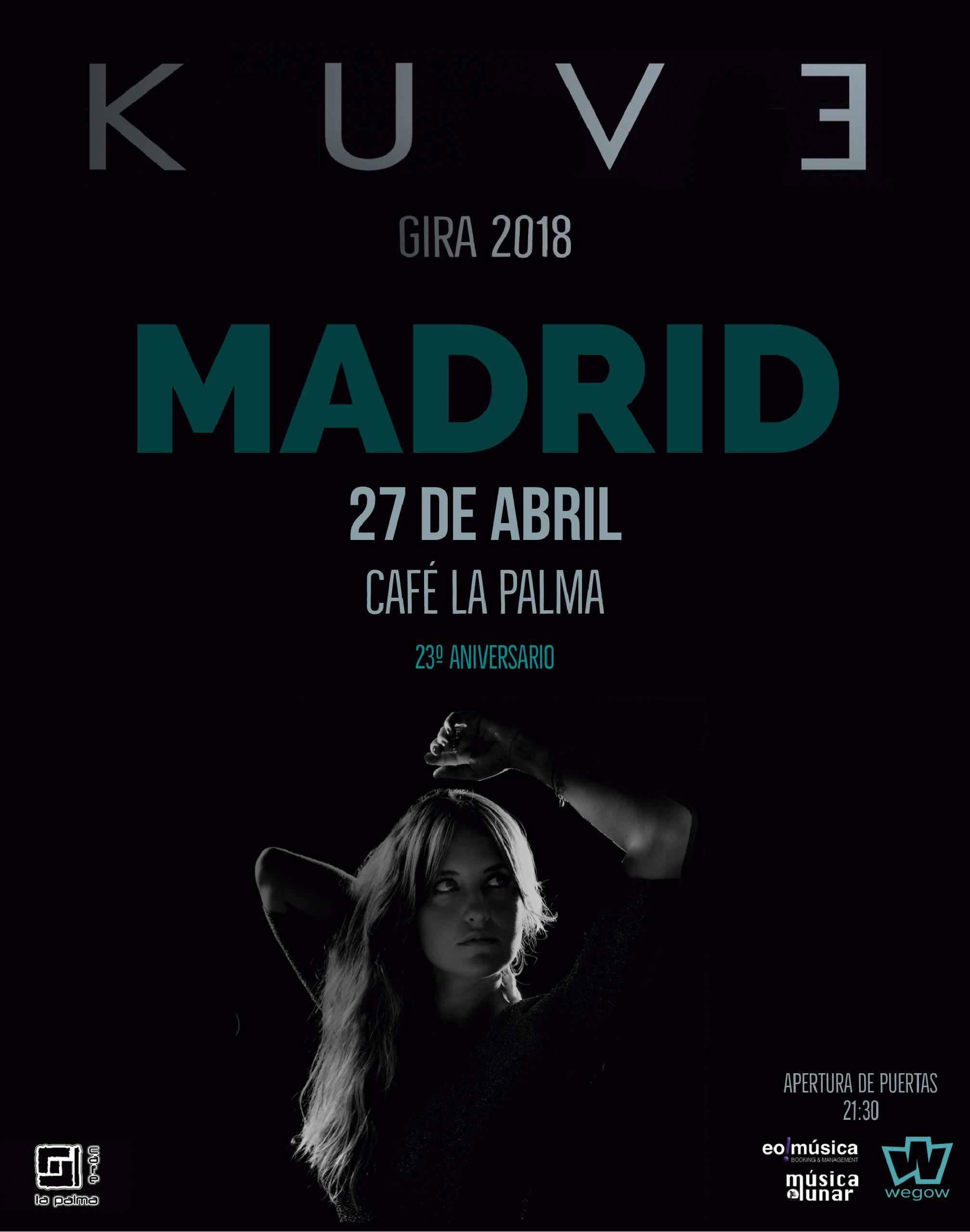 Concierto de KUVE en Madrid