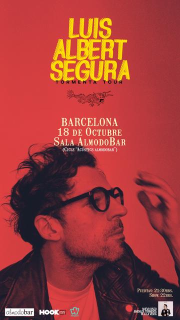 Cartel Luis Albert Segura Barcelona