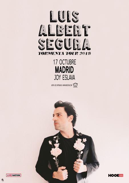 Concierto de Luis Albert Segura en Madrid