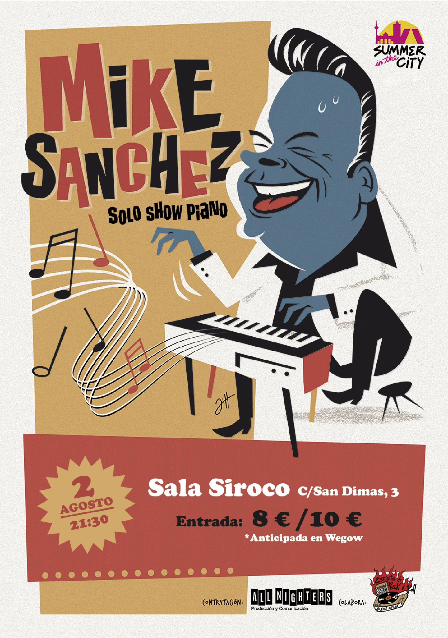 Mike Sanchez en Siroco