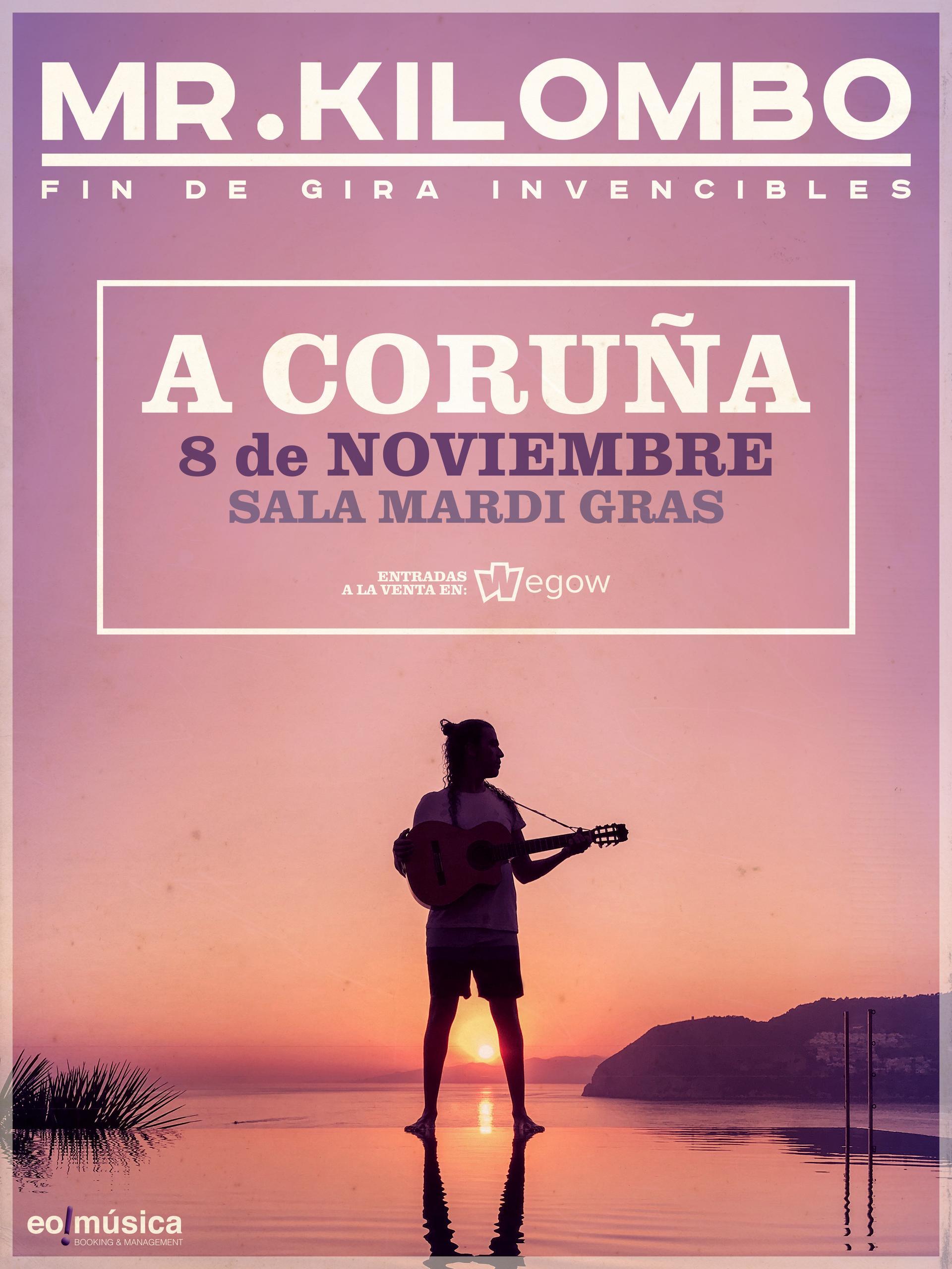 Concierto de Mr. Kilombo en A Coruña