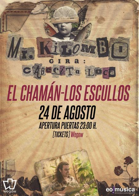 Concierto de Mr. Kilombo en Almería (Los Escullos)