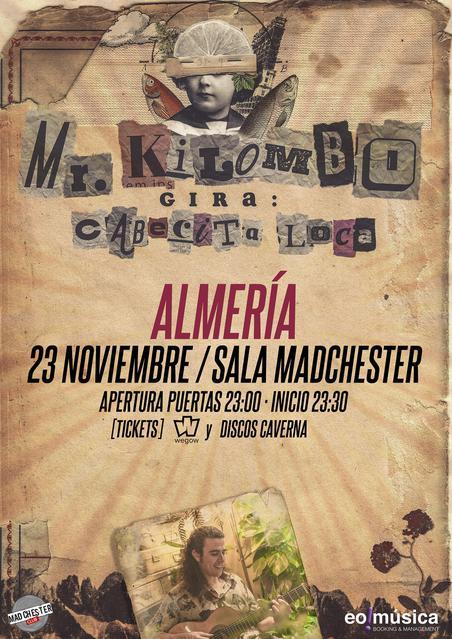 Concierto de Mr. Kilombo en Almería