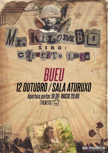 Concierto de Mr. Kilombo en Bueu (Pontevedra)