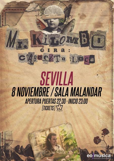 Concierto de Mr. Kilombo en Sevilla