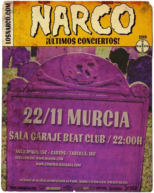 Sala Garaje Beat Club 22/11/2019