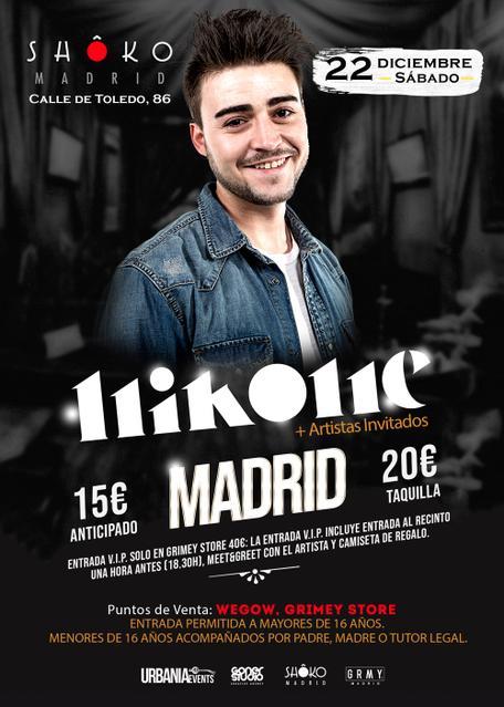 Nikone en Madrid