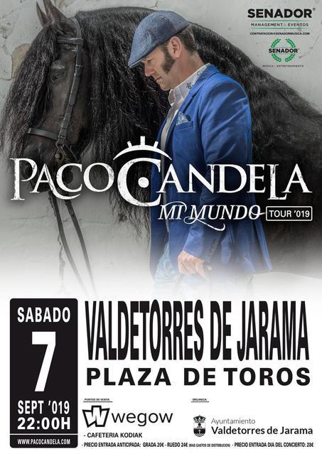 Concierto de Paco Candela en Valdetorres de Jarama