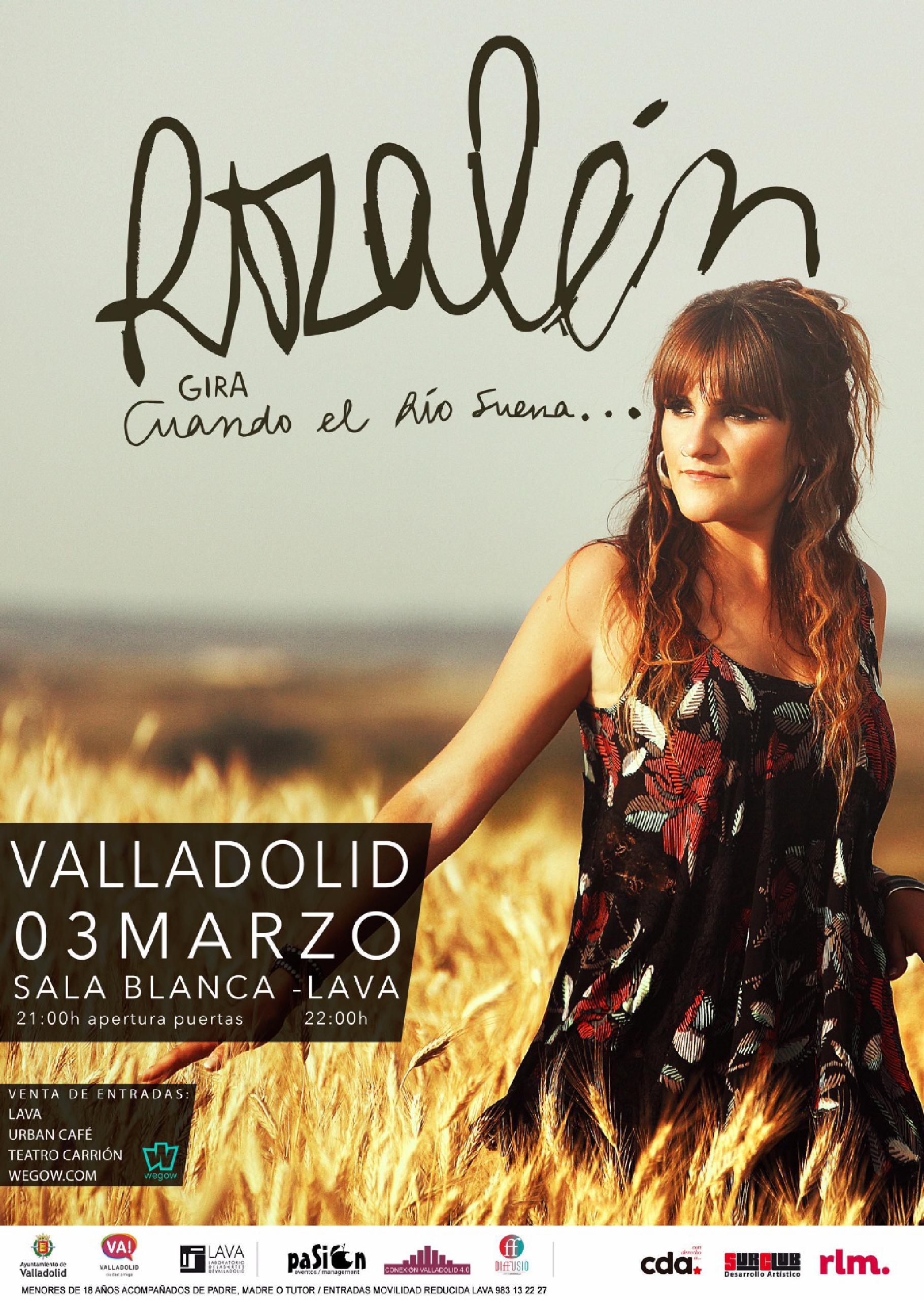 Concierto de Rozalén en Valladolid