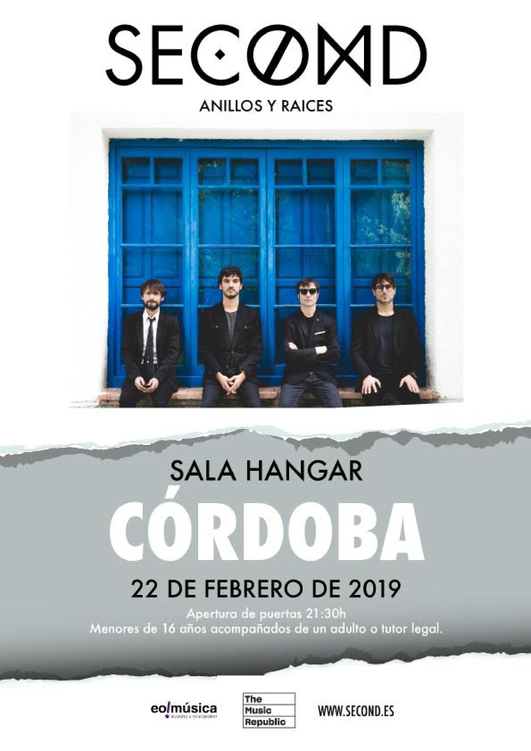 Concierto de Second en Córdoba