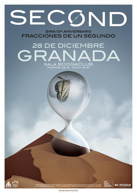 Concierto de Second en Granada