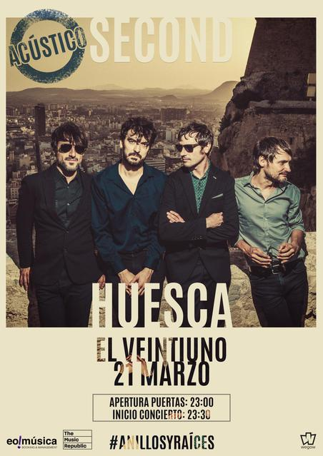 Concierto de Second en Huesca