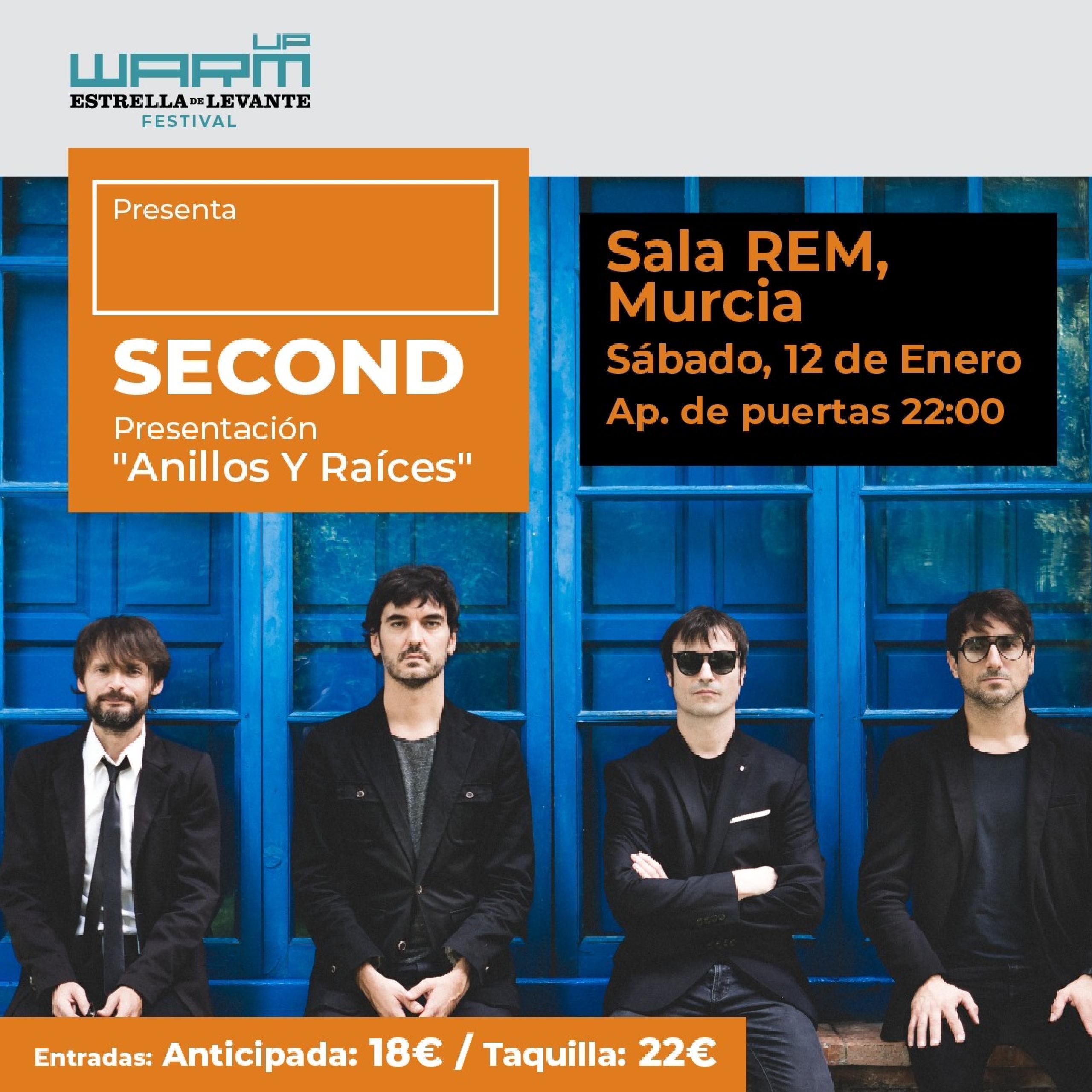 Concierto de Second en Murcia (2ª fecha)