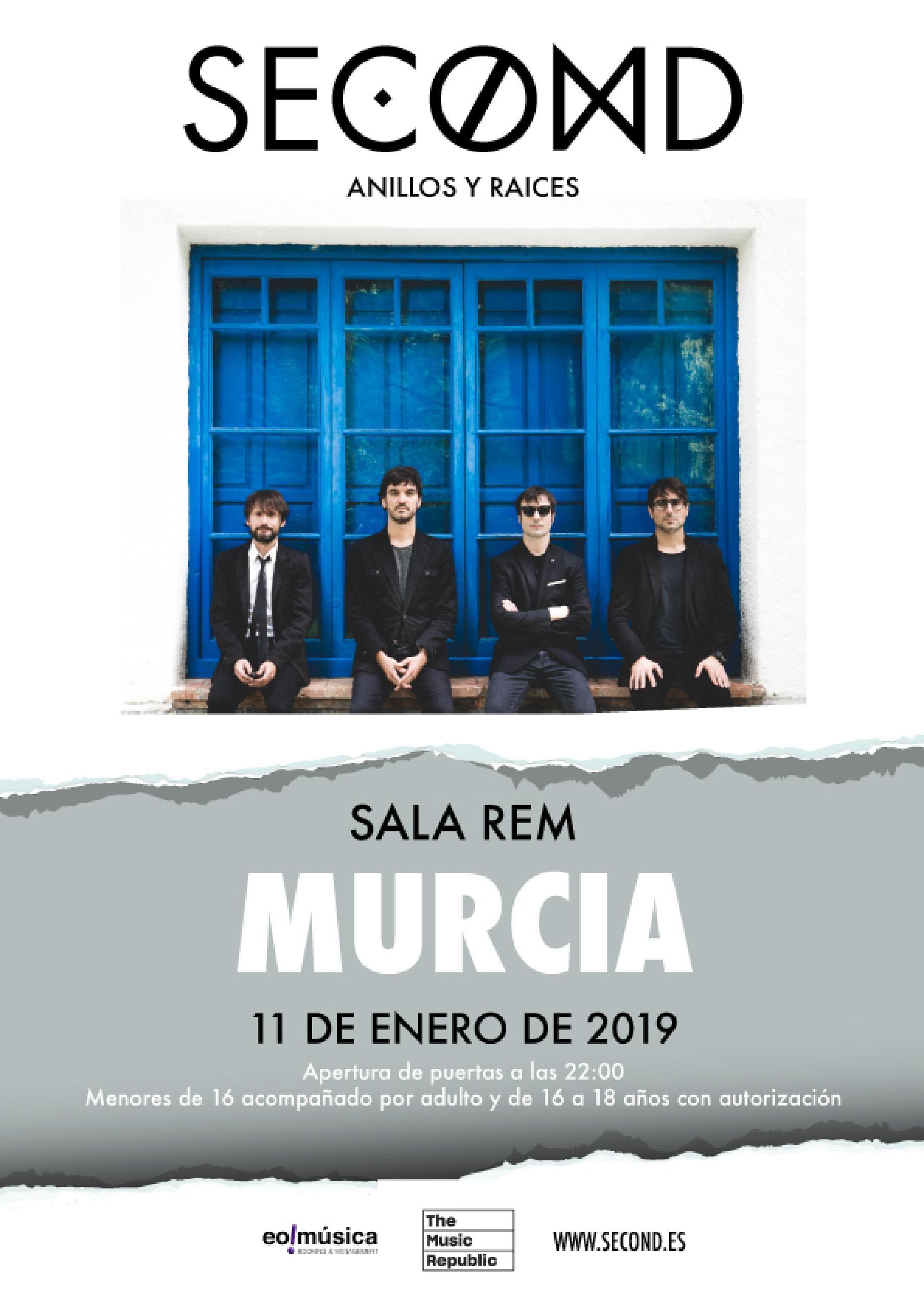 Concierto Second en Murcia