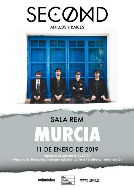 Concierto de Second en Murcia