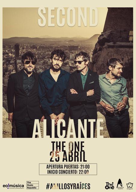 Concierto de Second en San Vicente del Raspeig, Alicante
