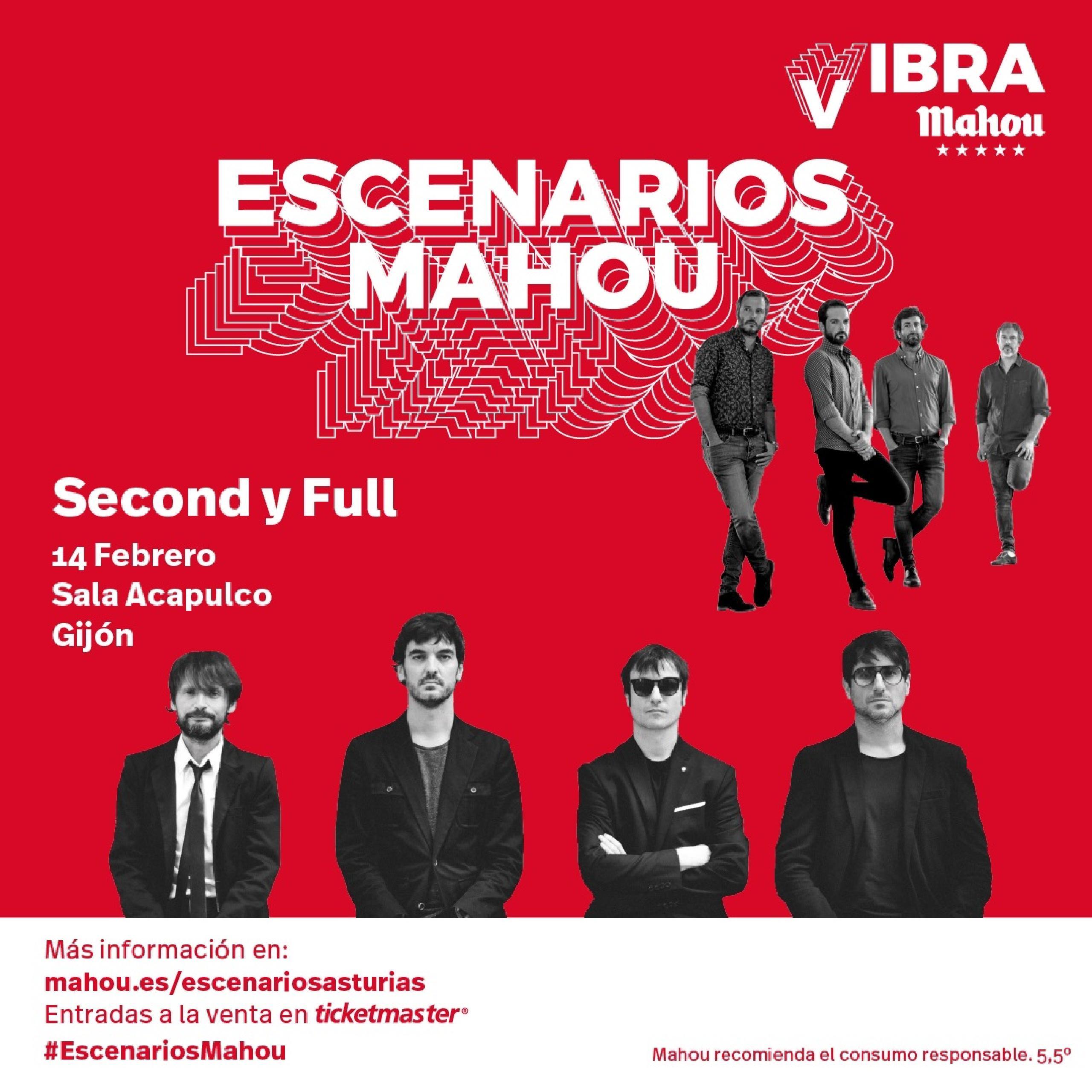 Second y Full concierto Gijón