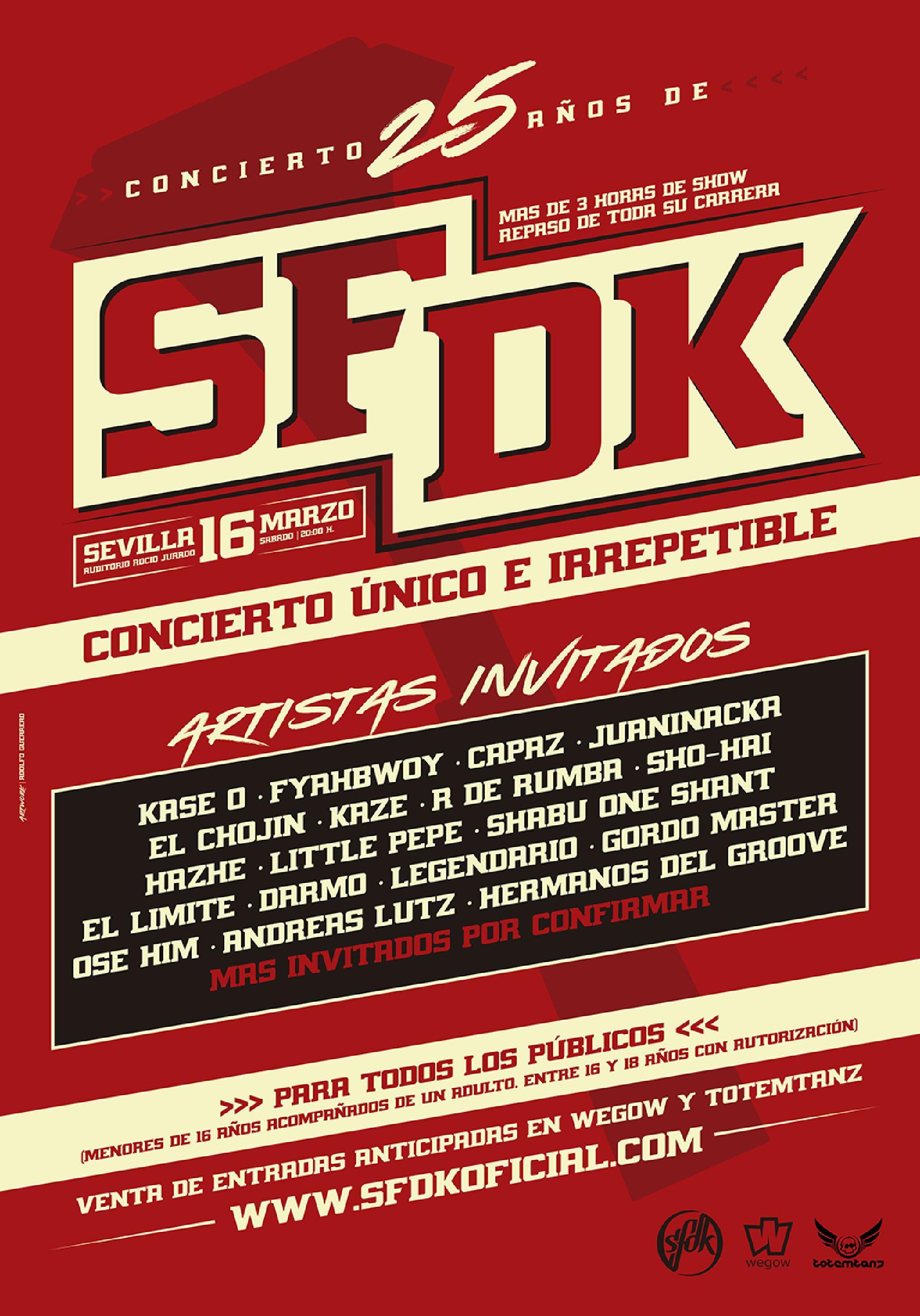 25 años de SFDK