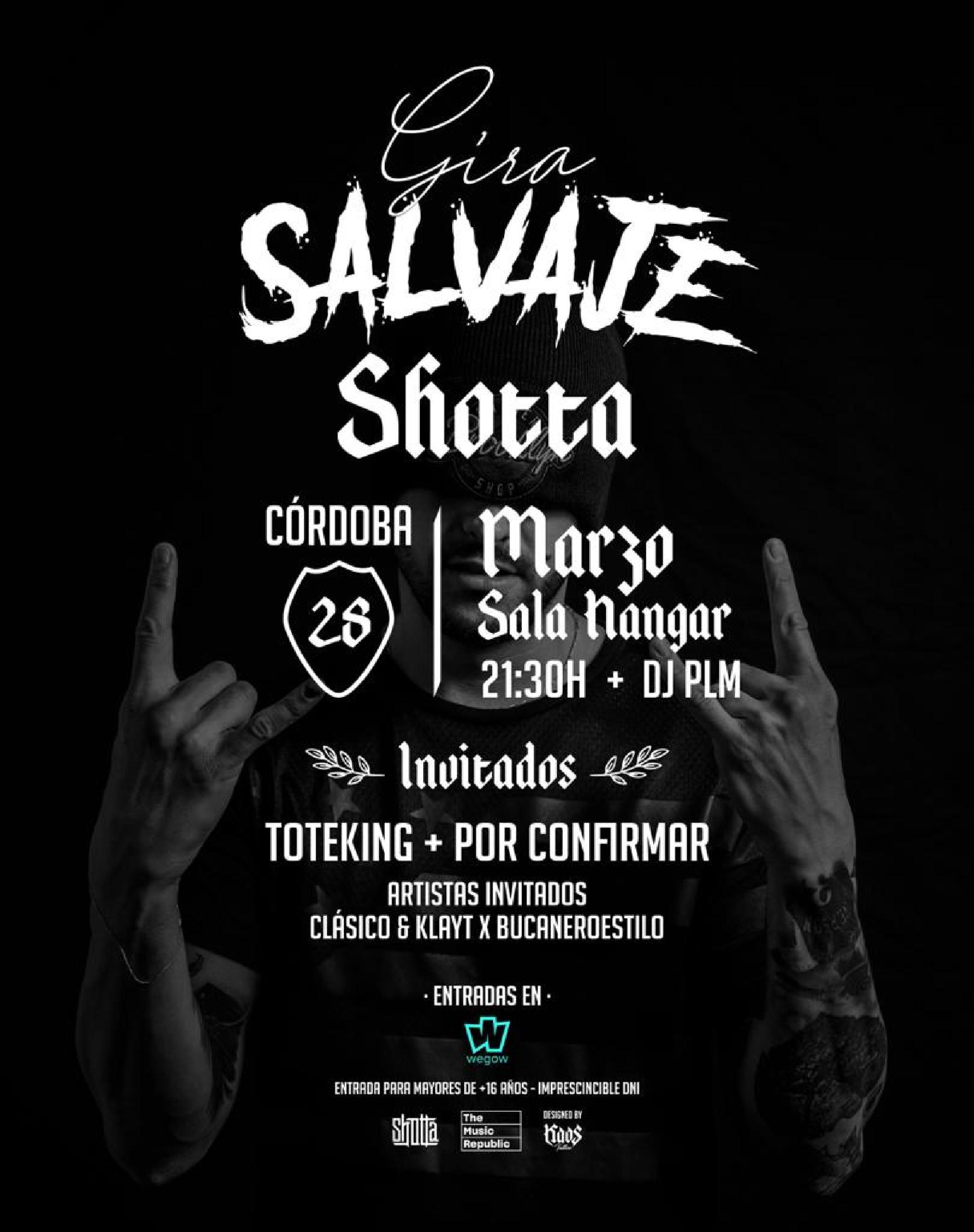 Concierto de Shotta en Córdoba