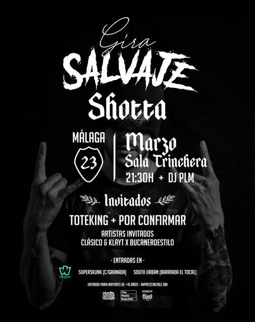 Concierto de Shotta en Málaga