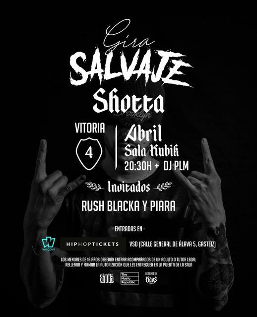 Concierto de Shotta en Vitoria