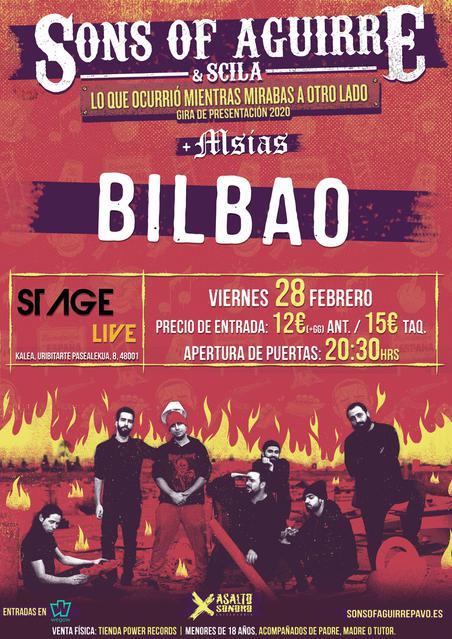 Sala Stage Live 28/02/2020