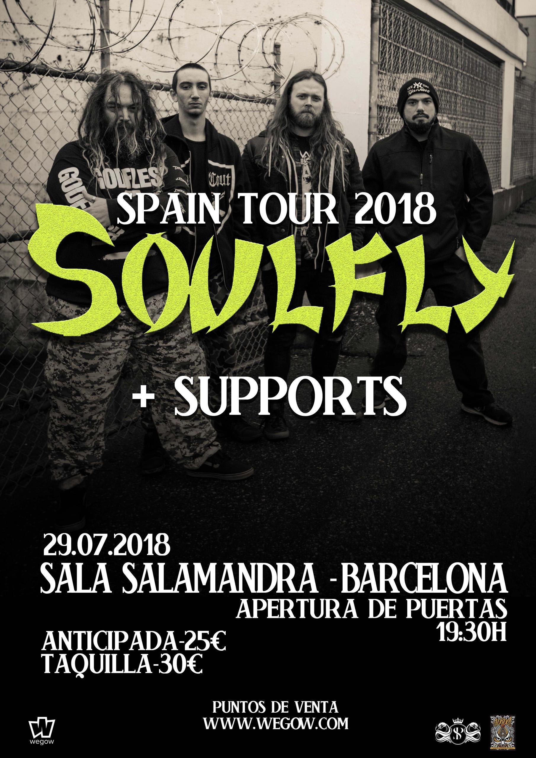 Soulfly en Barcelona!