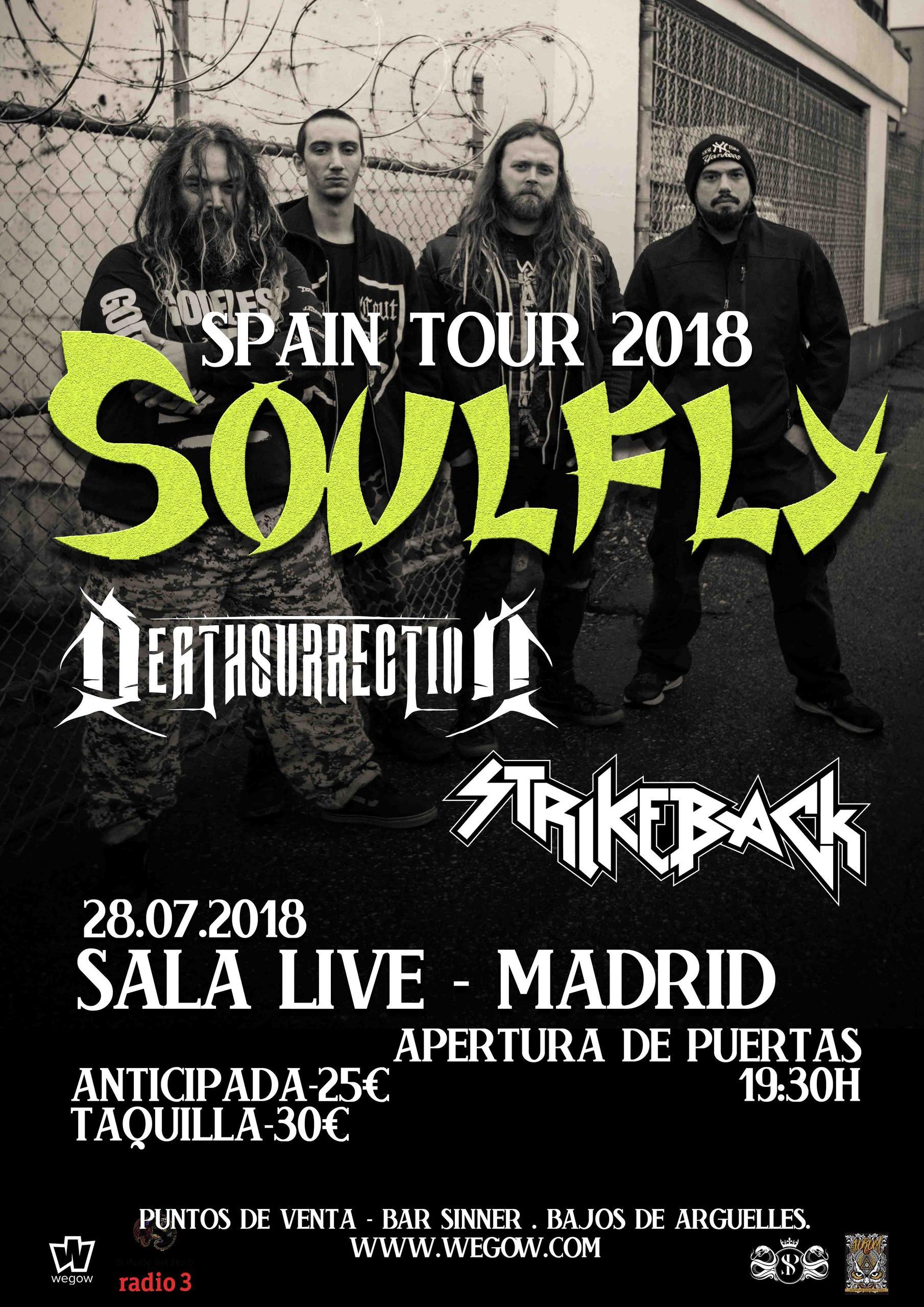 SOULFLY en MADRID