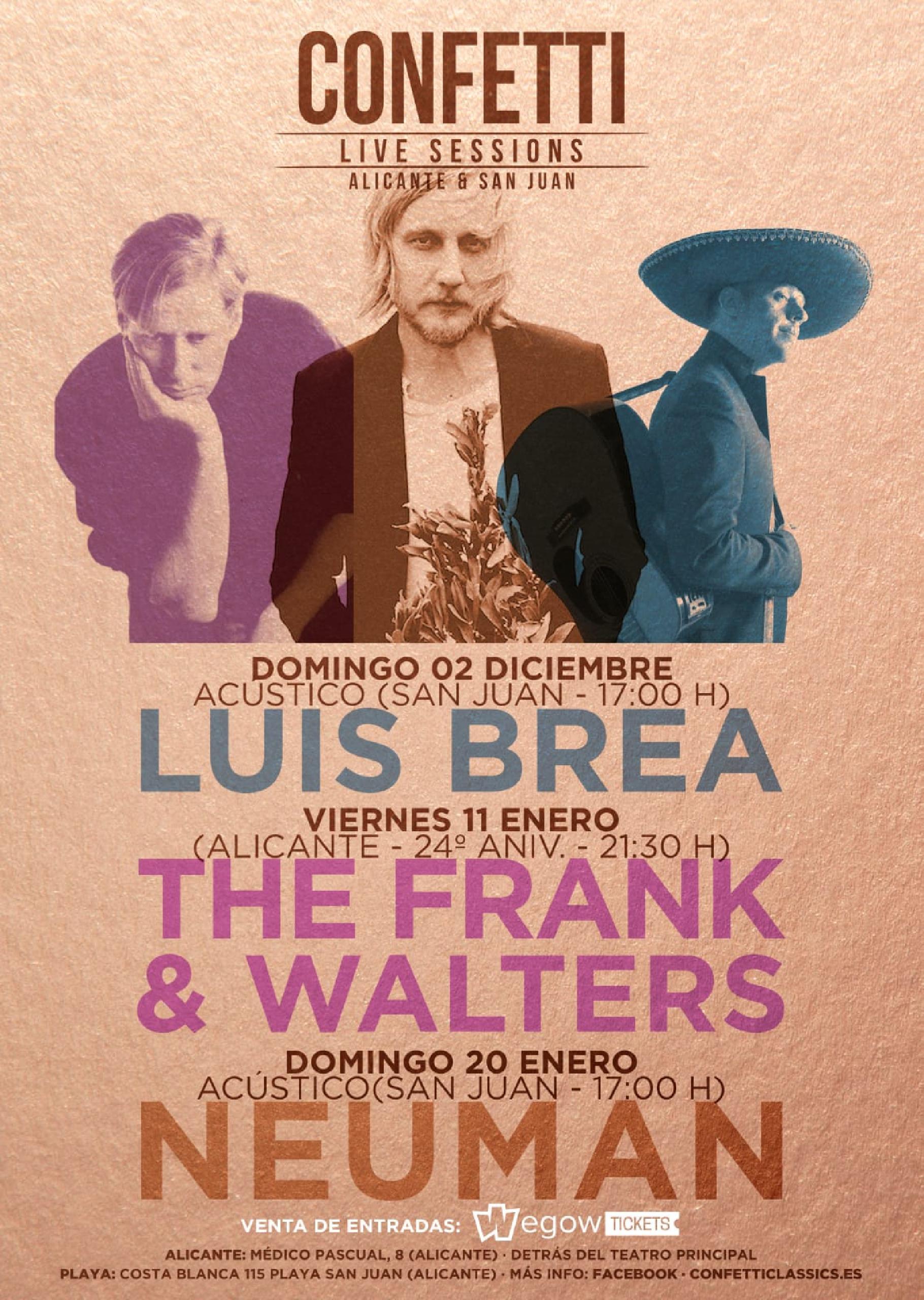 Concierto de The Frank & Walters en Alicante