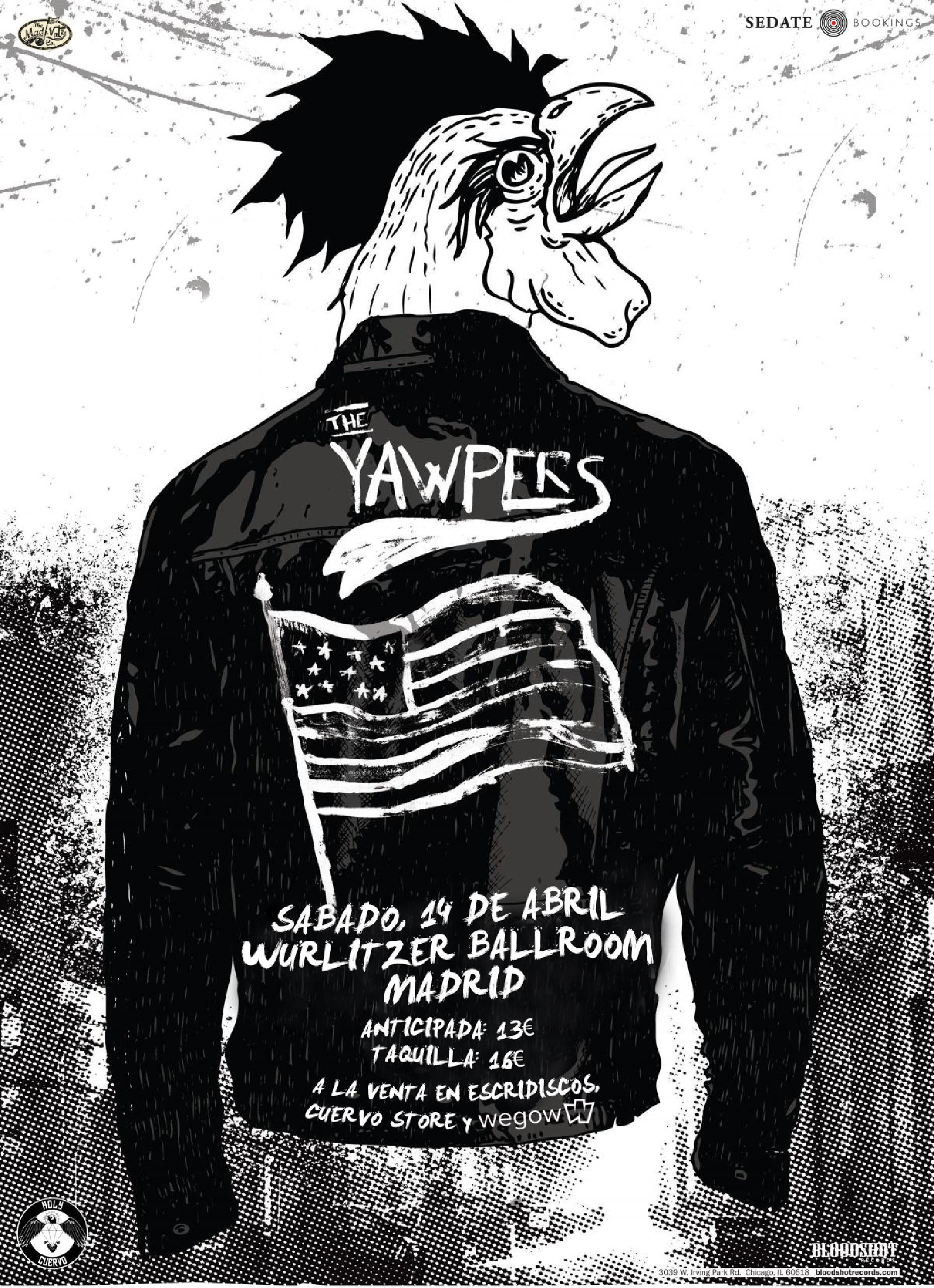 concierto Yapwers en madrid