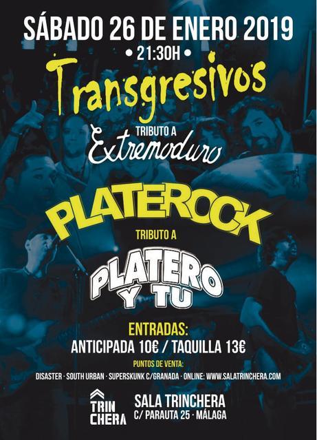Concierto de Transgresivos y Platerock en Málaga