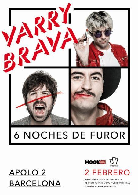 Concierto de Varry Brava en Barcelona