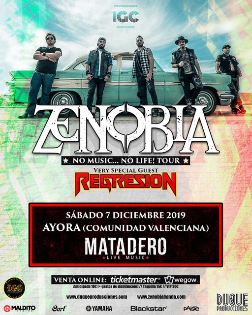 Concierto de Zenobia + Regresión