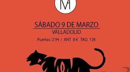 Cartel Modo Avión Valladolid