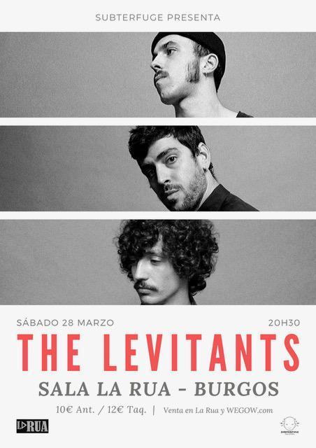 Concierto The Levitants en Burgos