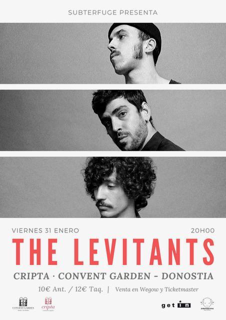 Concierto The Levitants en Donostia