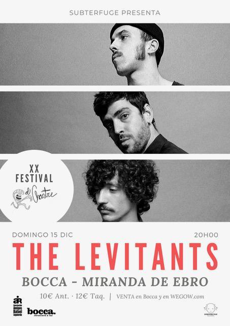 Concierto The Levitants en Miranda de Ebro