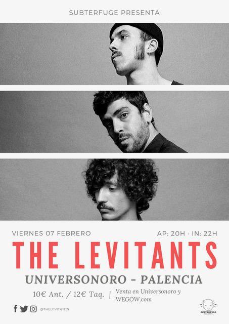 Concierto The Levitants en Palencia
