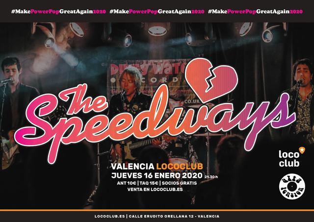 Concierto The Speedways en Valencia