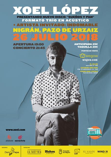 Xoel López en Nigrán
