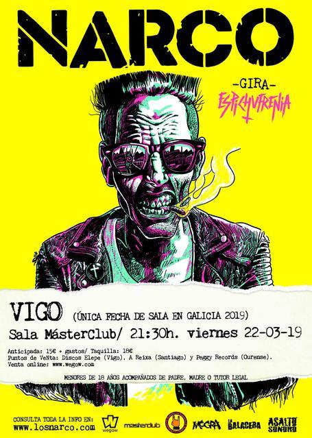 Sala Masterclub Vigo 22/03/2019