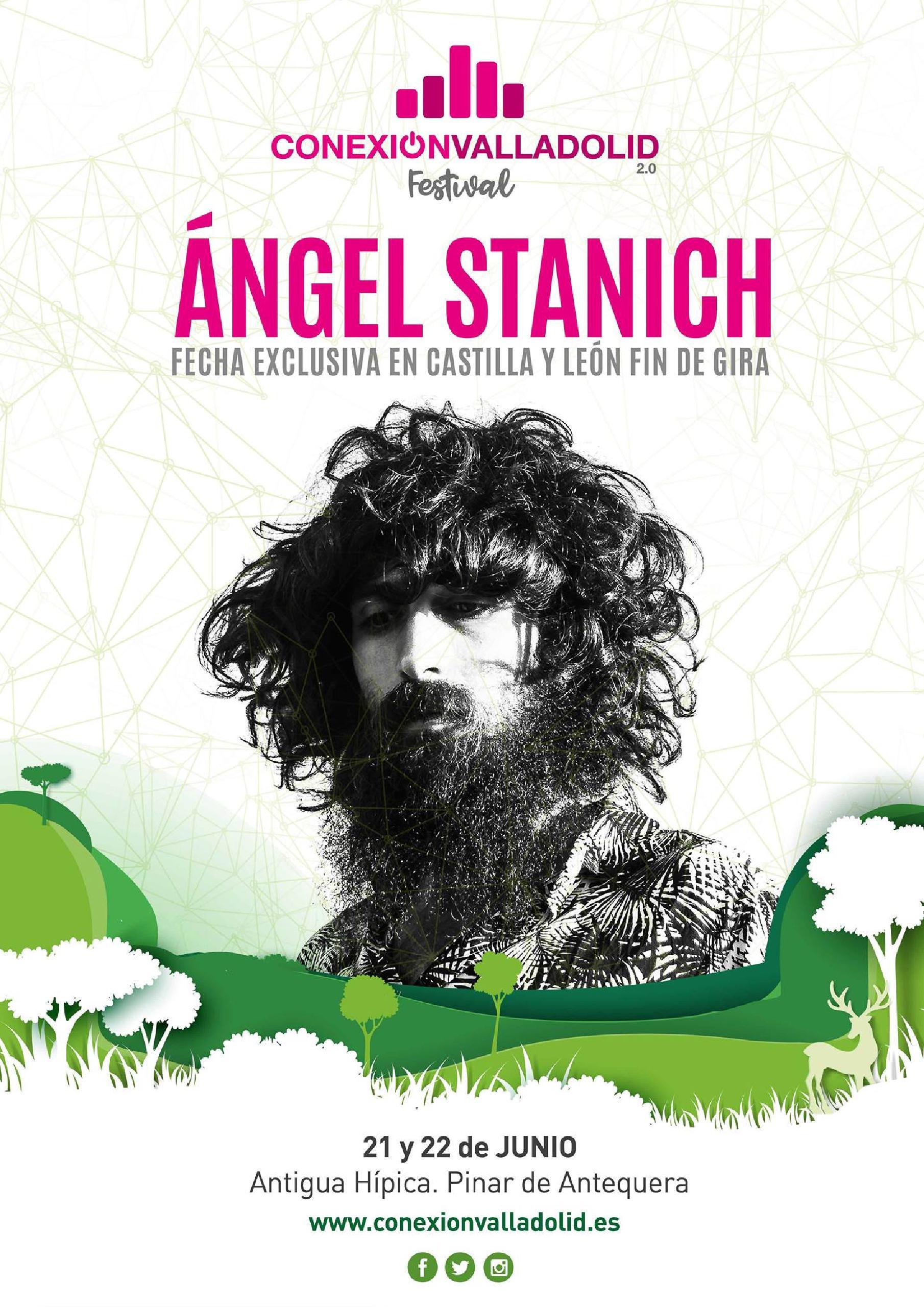 Angel Stanich confirmación Conexión Valladolid 2019