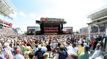 Crossroads guitar festival picture