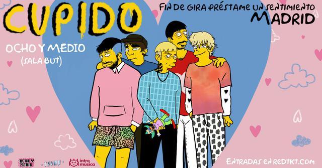 CUPIDO en Madrid (Ochoymedio) Fin de gira